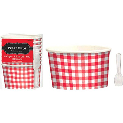 red and white ice cream cups - 6
