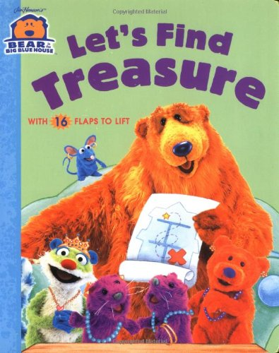 Let's Find Treasure (Bear in the Big Blue House (Board Books Simon & Shuster))