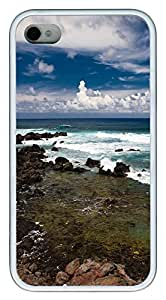 iPhone 4S CaseTruly Stunning Panoramic View TPU Custom iPhone 4/4S Case Cover White
