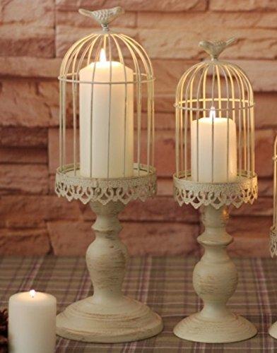 Jesica Retro Birdcage Iron Candlestick Decorative Candle Holder