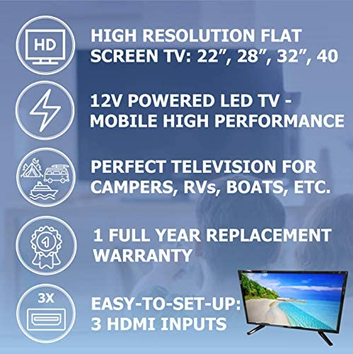 Free Signal TV Transit 32″ 12 Volt DC Powered LED Flat Screen HDTV for RV Camper and Mobile Use 51xRlVioQVL
