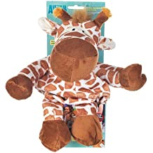 Animal Plant Baby Backpack with Safety Harness, Giraffe