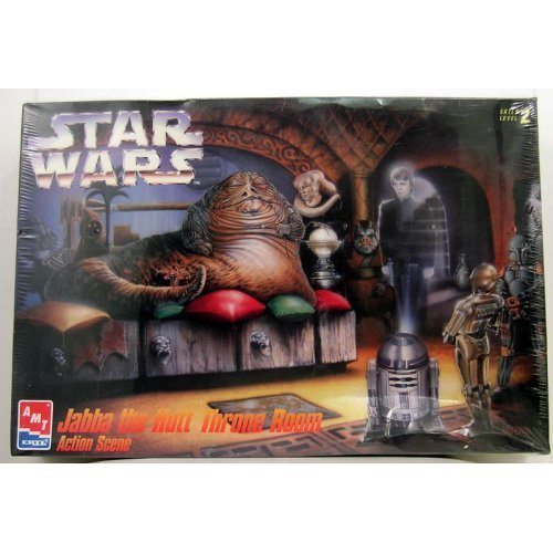 - Star Wars Jabba the Hutt Throne Room ERTL Model Kit