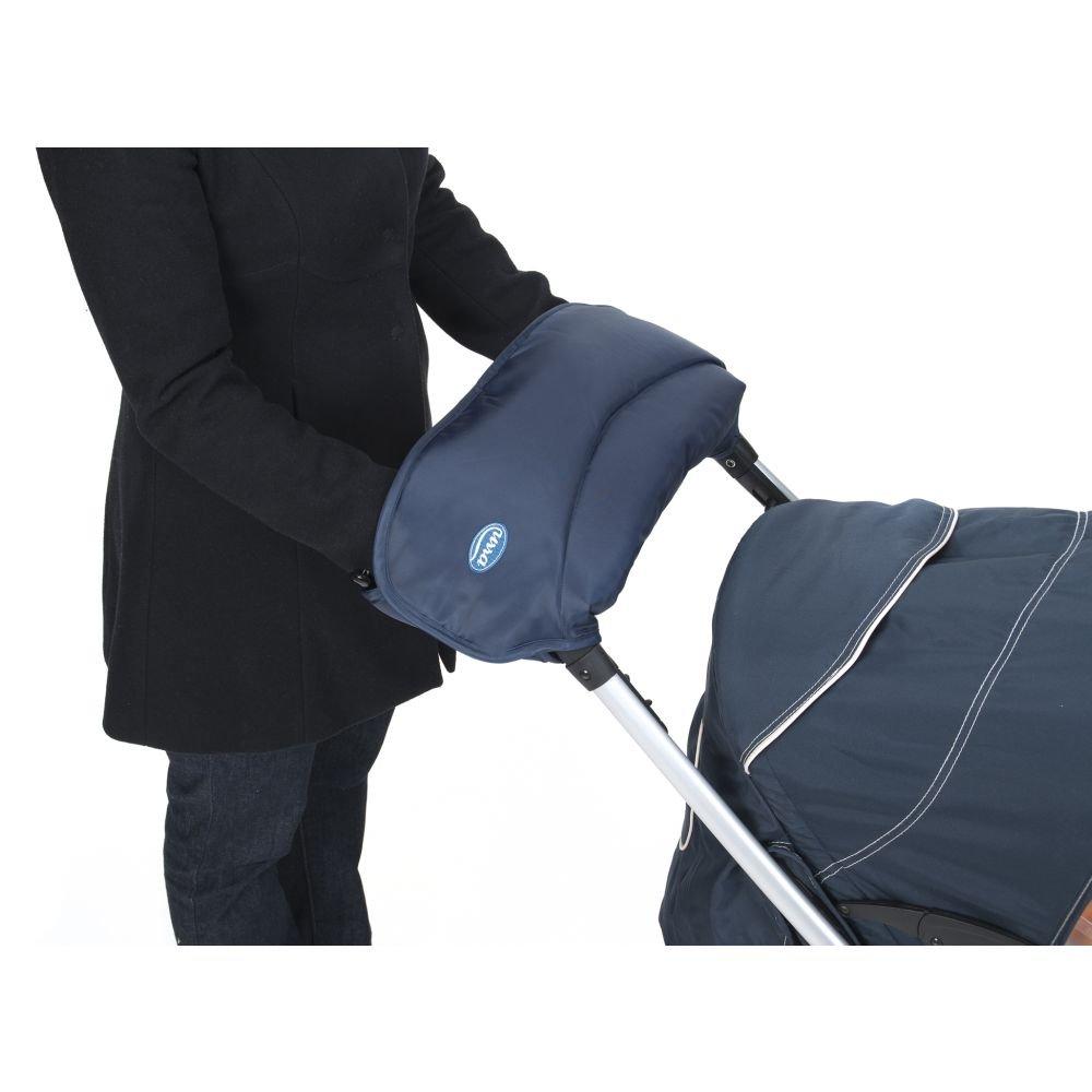 Handwärmer, Hand-Muff für Kinderwagen, Kinderwagenhandschuh, Babyblume Urra, Beige Handwärmer