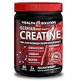 Creatine powder – GERMAN CREATINE CREAPURE MONOHYDRATE 500 GRAM 100 SERVINGS – for fat burning (1 Bottle) Review