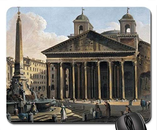 (Pantheon Rome Mouse Pad, Mousepad (Religious Mouse)