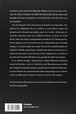 La tumba de Alejandro: El enigma (Novela histórica): Amazon.es: Manfredi,Valerio Massimo, Monreal Salvador, Jose Ramon, MONREAL SALVADOR, JOSE RAMON;: Libros