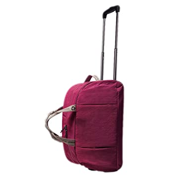 YANJINGHONG Equipaje Bolsa de Viaje con Ruedas Carrito de Viaje Bolsa de Viaje Bolso Bolsa de