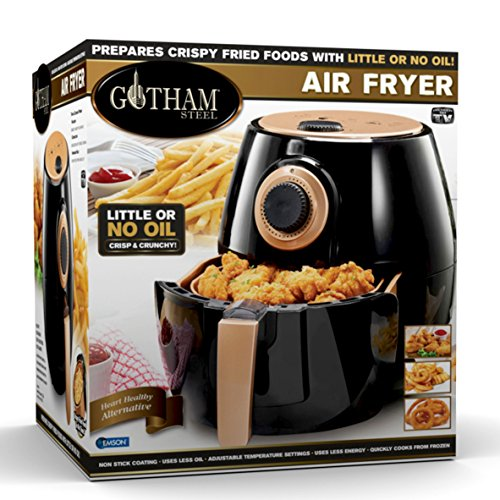 Gotham Steel Air Fryer XL 3.8 Liter with Rapid Air Technolog