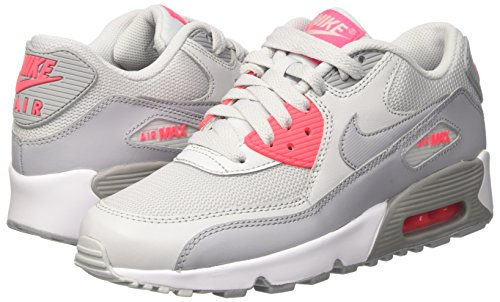 Nike Air Max 90 Mesh Gs, Zapatillas para Niñas, Multicolor