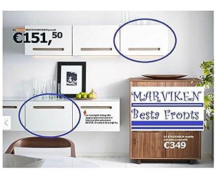 Amazon Ikea Besta Cabinet Door Front Marviken White 23 58x 15