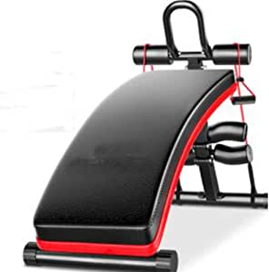 HATHOR-23 Abdominal Muscle Plate, Adjustable Weight Bench, Multiuse Foldable Gym Weight Bench, for Home Gym Full Body Workout, Black, 350 Lbs Load-Bearing