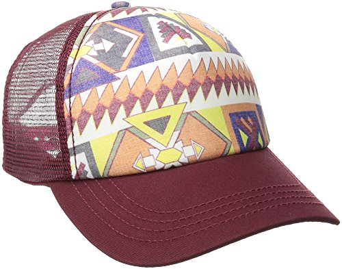 Billabong Juniors' Tiles N Tides Hat, Black Cherry, One Size