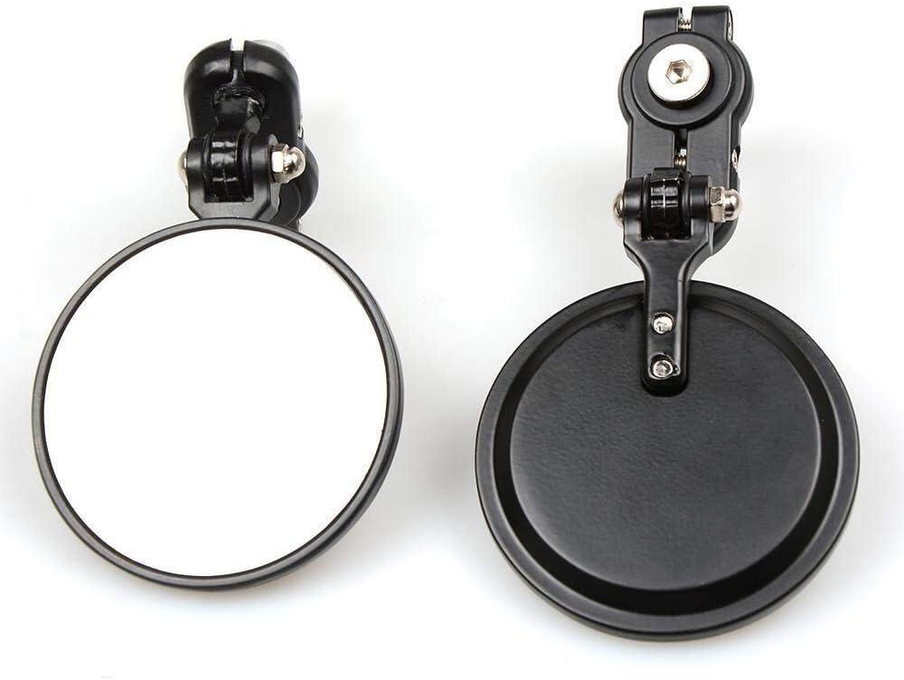 Universal Rearview Mirror Convient for une vue arri/ère de voitures de rue scooters rond moto R/étroviseurs poign/ée End Bar Accessoires moto Modifi/é Rearview Mirror motos//voitures /électriques