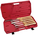 Steelex Plus D2304 Deluxe HSS Lathe Chisel Set, 6-Piece