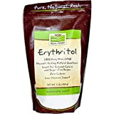 Now Foods, Erythritol 100% Natural Sweetner 1 lb