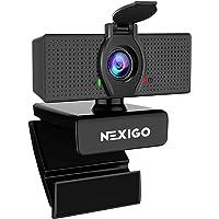 1080P Web Camera, HD Webcam with Microphone, Software Control & Privacy Cover, NexiGo N60 USB Computer Camera, 110…