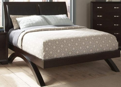 Homelegance Astrid Platform Bed In Espresso - California (Homelegance California King Bed)