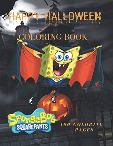Halloween Crafts And Coloring Pages (SpongeBob SquarePants Happy Halloween  Coloring Book 100 Coloring Pages: SpongeBob SquarePants Happy Halloween Coloring Book, For Kids, Crafts for ... Coloring Pictures, Unlined,  8,5