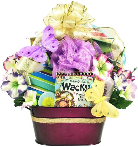 For a Fun Lady | Bath and Body Spa Gift Basket for Women