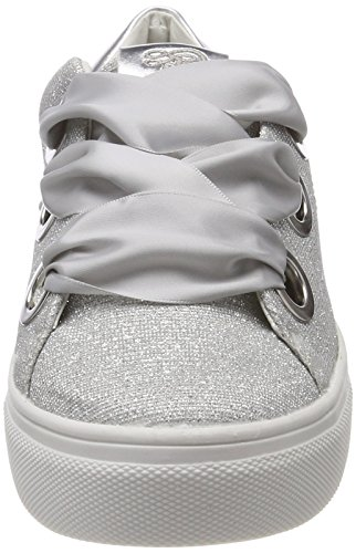 Tom Tailor Ladies 4896804 Sneaker Argento (argento)
