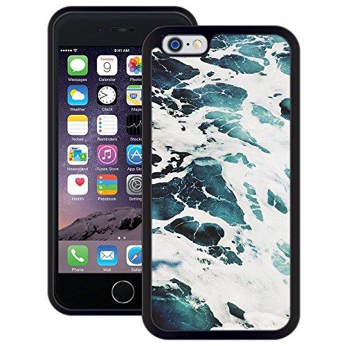 Wasser, Meer, | Handgefertigt | iPhone 6 6s (4,7') | Schwarze Hülle