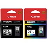 Genuine Canon PG-240XL/CL-241XL Color Ink Cartridge 2-Pack [Office Product]