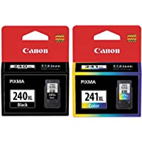 Genuine Canon PG-240XL/CL-241XL Color Ink Cartridge 2-Pack