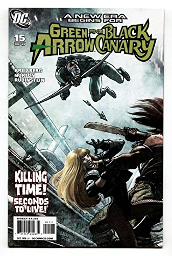 GREEN ARROW and BLACK CANARY #15-2009-First appearance of CUPID