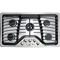 GE Profile PGP986SETSS 36 Gas Cooktop with 5 Sealed Burners
