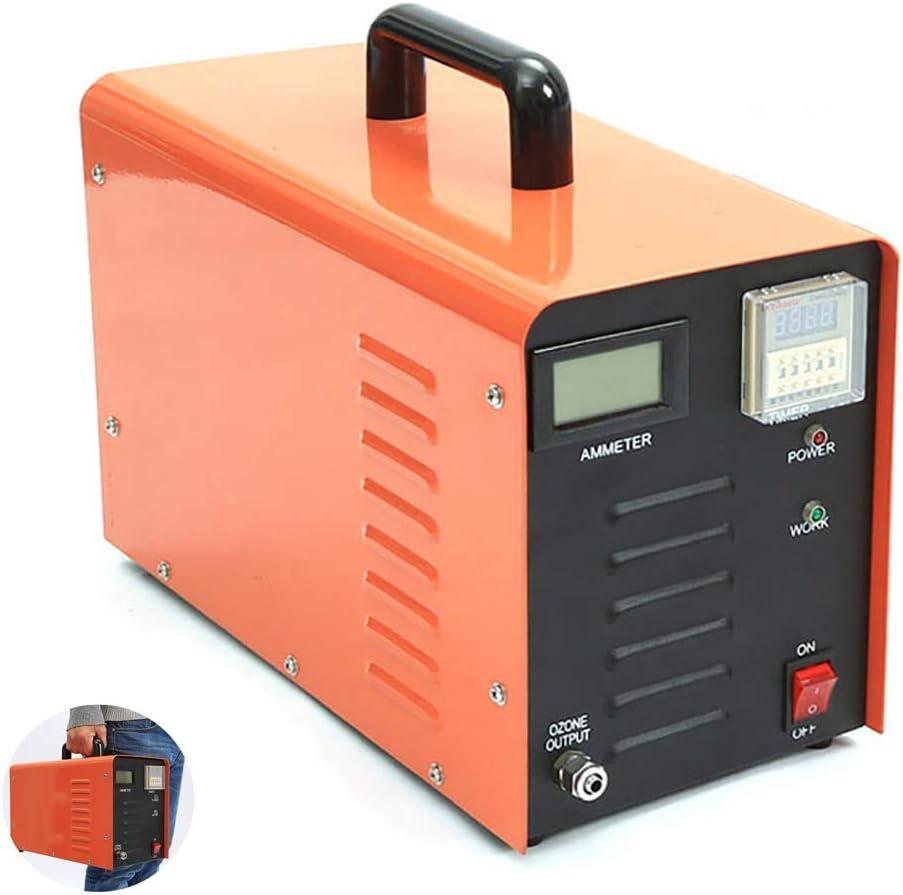 Oz3 Generador de ozono Comercial, purificador de Aire Profesional O3 Desodorizador de Servicio Pesado y esterilizador Purificador de Aire Ozonizador Máquina para el hogar, Hospital, fábrica,5g/h: Amazon.es: Hogar