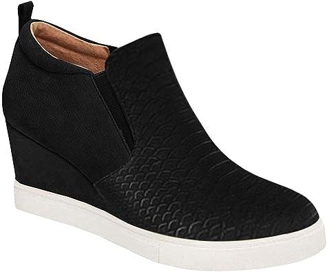 Platform Wedge Sneakers Fashion High