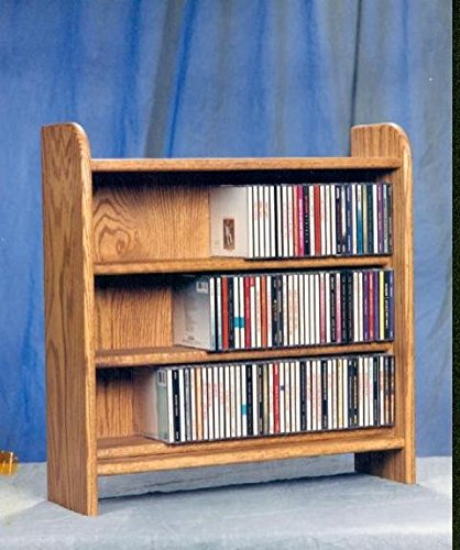 CD Rack - 165 Capacity (Natural) (25