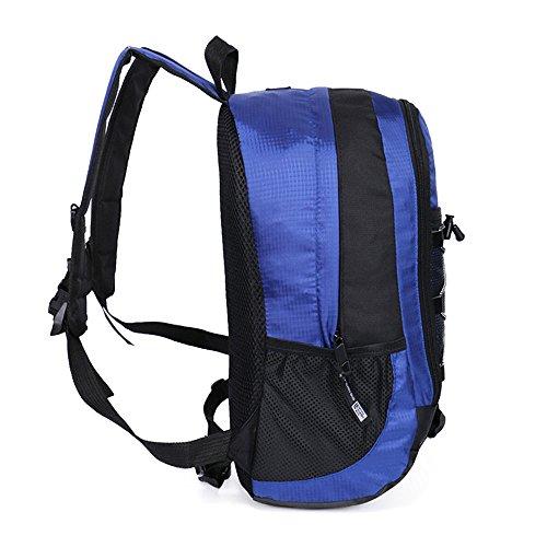 xiaodiu Casual Backpack 2018New Outdoor Rucksack Sports Rucksack Nylon Rucksack 20L, schwarz