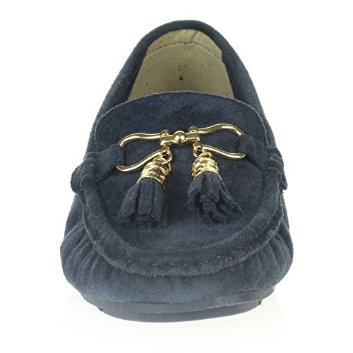 Dames Femmes Mocassins Ferm Loafer Travail Bureau London Bout Confort Aarz Z4xTqT