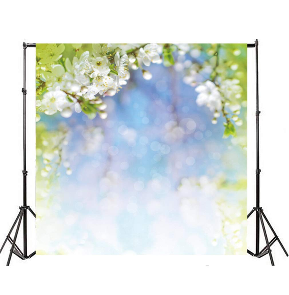 YongFoto 2,5x2,5m Fondo de Fotografia Bokeh Halos Glitter Sequins Fancy Fresh Peach Blossom Naturaleza Rom/ántico Tel/ón de Fondo Fiesta Boda Adulto Retrato Personal Estudio Fotogr/áfico Accesorios