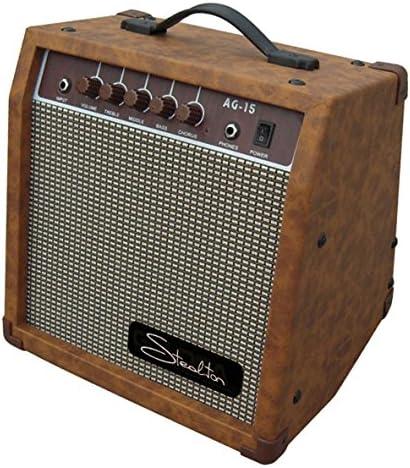 steelton ag-15 amplificador para guitarra acústica: Amazon.es ...
