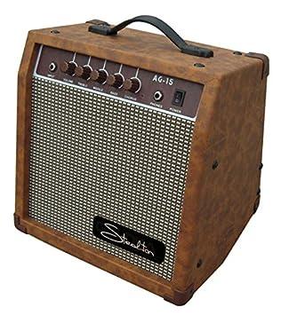 steelton ag-15 amplificador para guitarra acústica