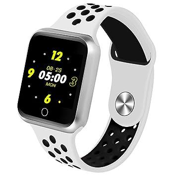 Montre Intelligente S226, Fitness Tracker Bluetooth, PodomèTre pour TensiomèTre Cardiaque, Bracelets Intelligents pour