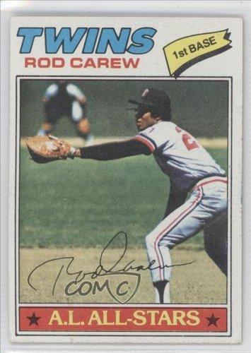 1977 Topps # 120 Rod Carew Minnesota Twins Baseball Card