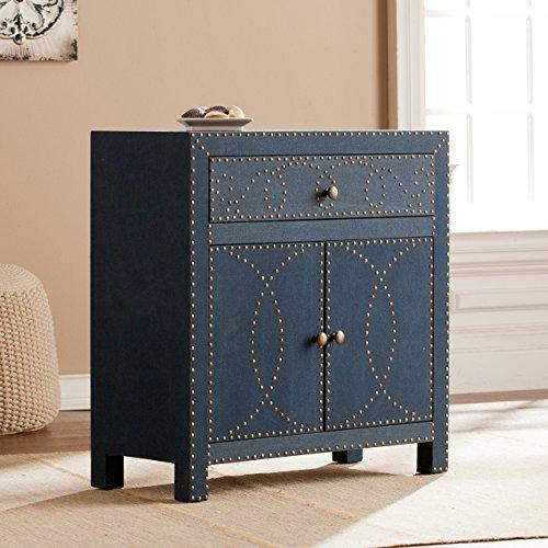 Southern Enterprises AMZ5295ZH Florian Double-Door Cabinet-Navy by Southern Enterprises