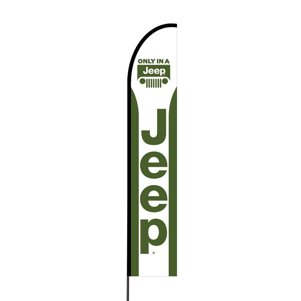 The Curbie Alt Jeep EVO Flag Multi-Colored GK-9IW4-0T00