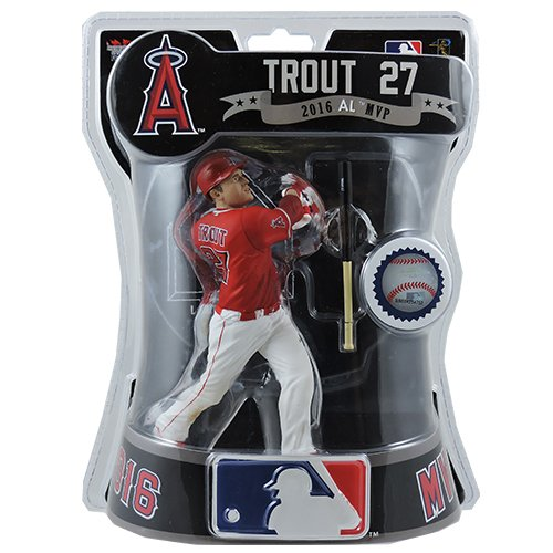 IMPORTS DRAGON 2017 MLB ANGELS 6 MIKE TROUT EXCLUSIVE FIGURE ALTERNATE UNIFORM VERSION