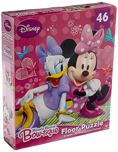 - Minnie Mouse 46 Pieces Floor Puzzle (Styles Will Vary)