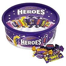 Cadbury Heroes - Assortment of chocolates and toffees - 675g - UK