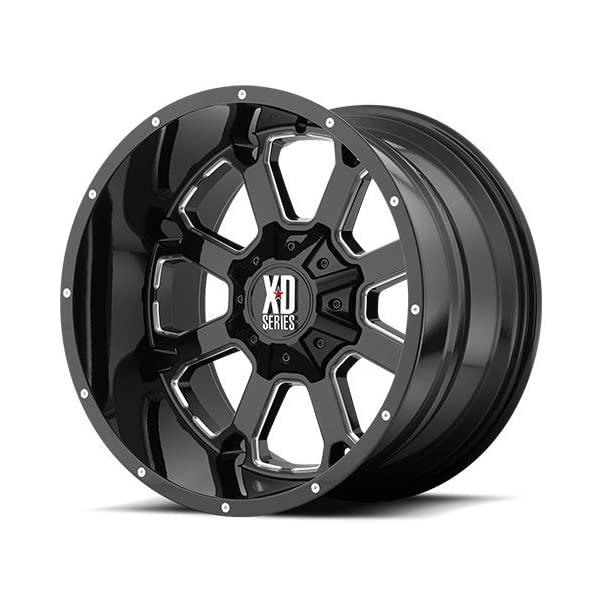 XD-Series-by-KMC-Wheels-XD825-Buck-25-Gloss-Black-Wheel-with-Milled-Accents-20x108x1651mm-24-offset