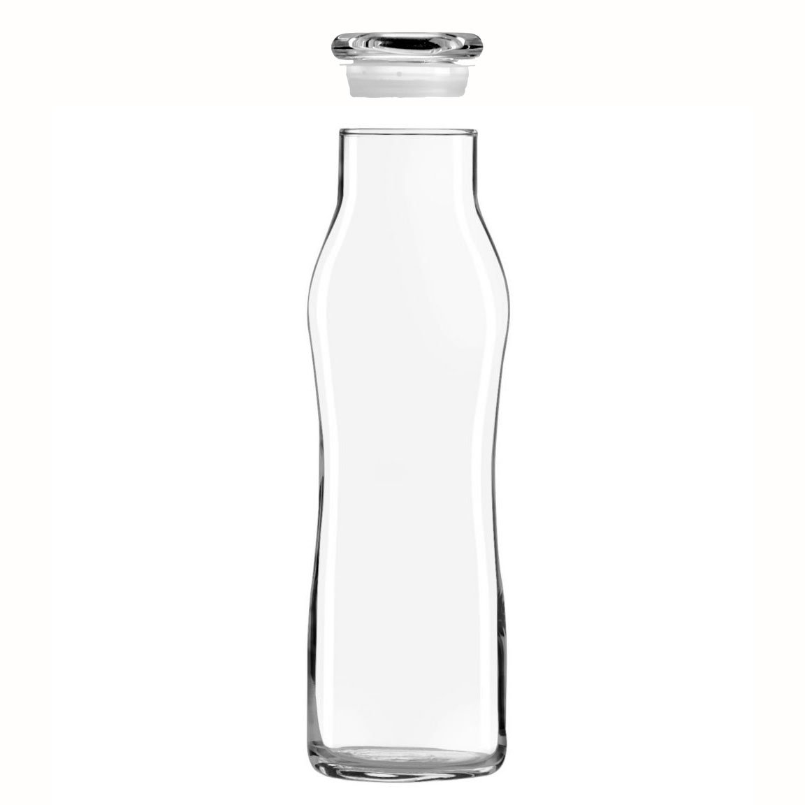 Amazon.com: Libbey Glass 22 & 24 oz Botella con tapa para ...