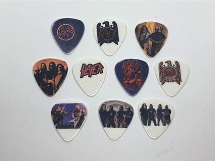 Juego de púas para guitarra (10 púas/10 diseños diferentes ...