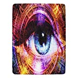 """InterestPrint Ultra-Soft Micro Fleece Blanket 60"""" X 80""""  Type: One-side Printing, 100% Polyester, 60""""(W) x 80""""(L)   38.80 Oz. Personalized and stylish blanket.   Easy to clean, machine washable and dries quickly.   The blanket with soft and comfortab..."""