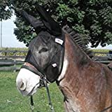 Cashel Quiet Ride Fly Mask With Ears for Mule/Donkey - Size: Horse